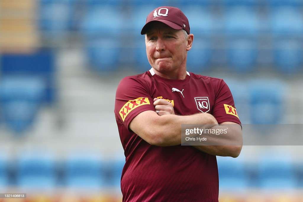 Queensland Maroons Media Opportunity & Training Session : News Photo
