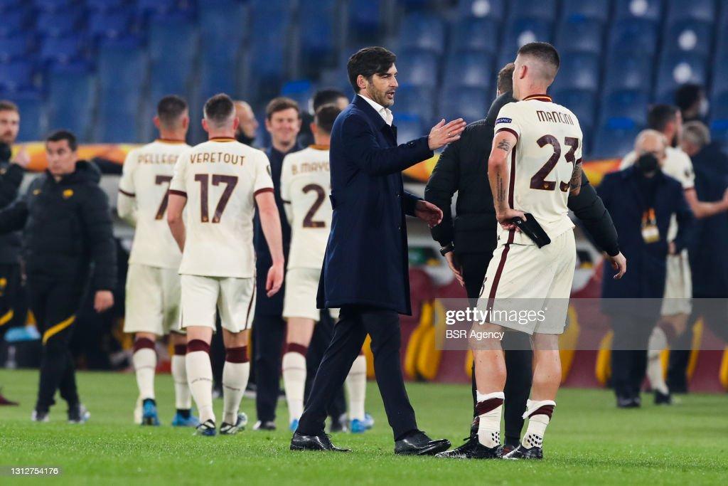 AS Roma v Ajax - UEFA Europa League Quarter Final: Leg Two : News Photo