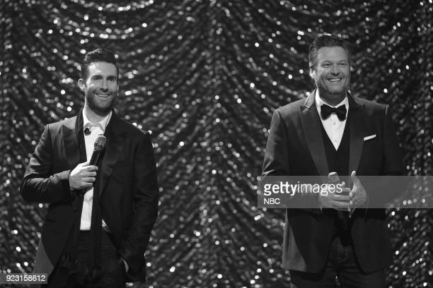 "Coach Performance"" -- Pictured: Adam Levine, Blake Shelton --"