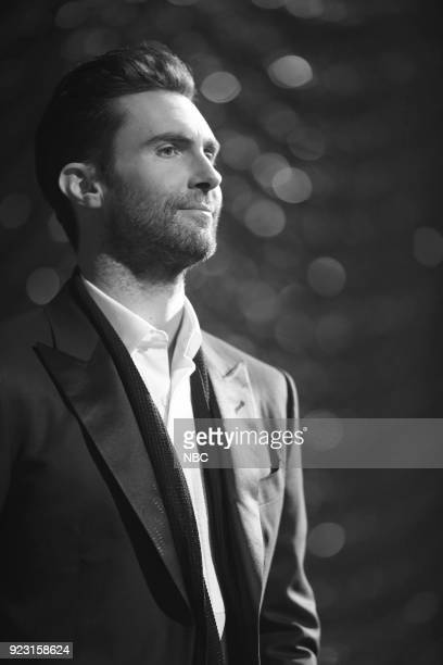 THE VOICE 'Coach Performance' Pictured Adam Levine