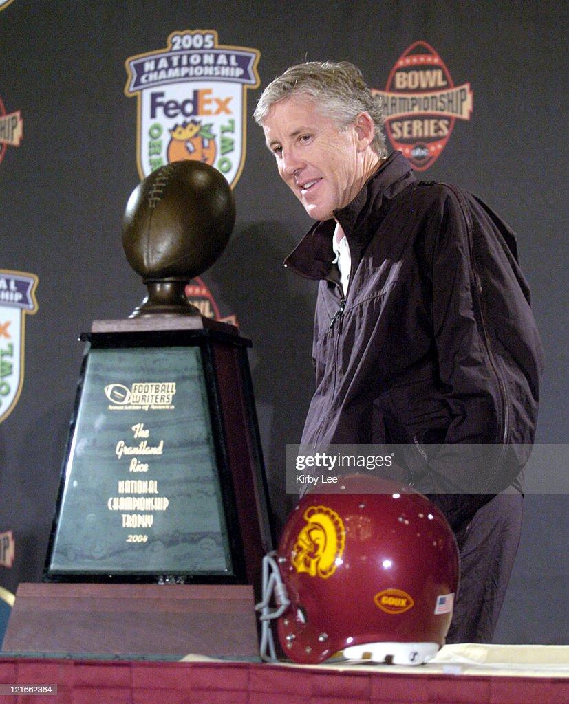 FedEx Orange Bowl - Post Game Press Conference - January 5, 2005