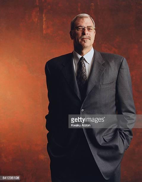 NBA Coach Phil Jackson