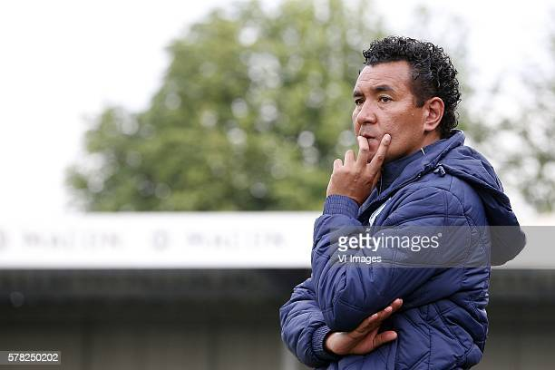 coach Ricardo Moniz during the friendly match between FC Eindhoven and Sporting Hasselt Town at Jan Louwers Stadium on july 20 2016 in Eindhoven the...