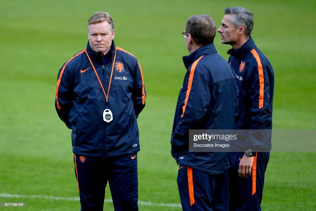 Training Holland in Geneve : News Photo