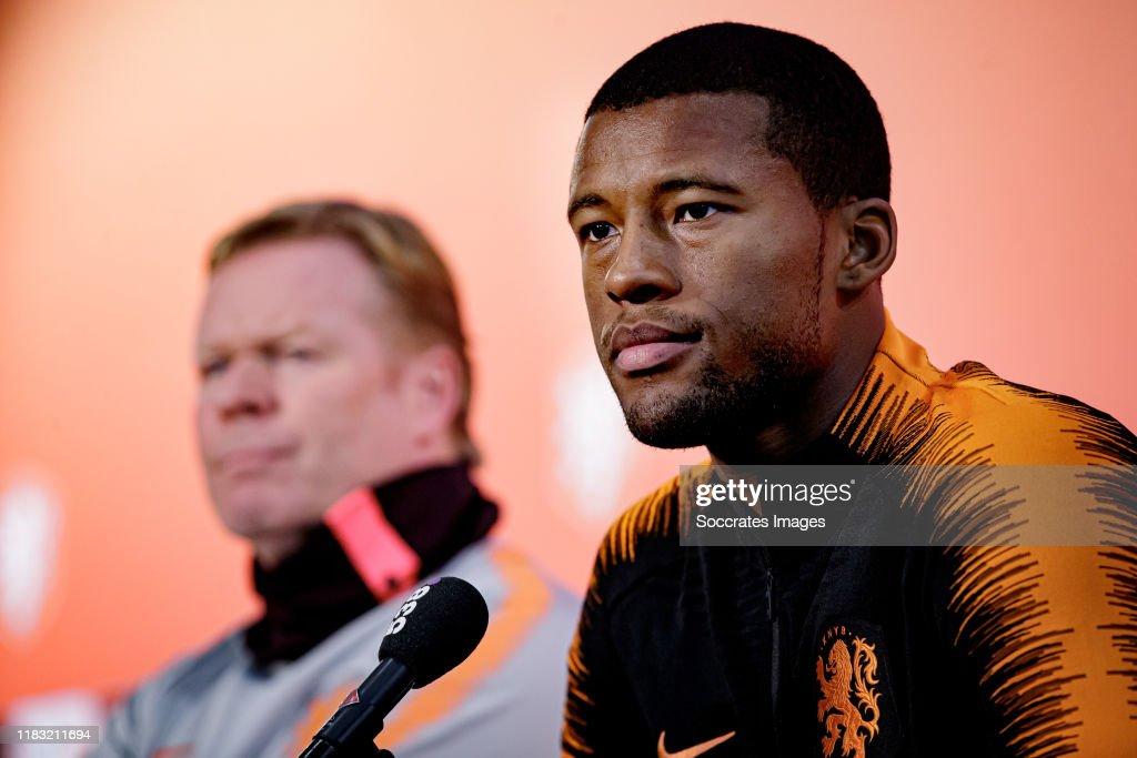 Training Holland -Training Men : Nachrichtenfoto