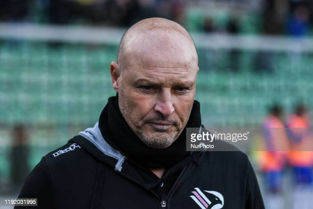 Coach Rosario Pergolizzi after the serie D match between SSD Palermo and Marsala at Stadio Renzo Barbera on January 05 2020 in Palermo Italy