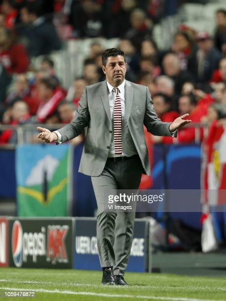 Coach Rui Vitoria of SL Benfica during the UEFA Champions League group E match between SL Benfica and Ajax Amsterdam at Estadio La Luz on November...