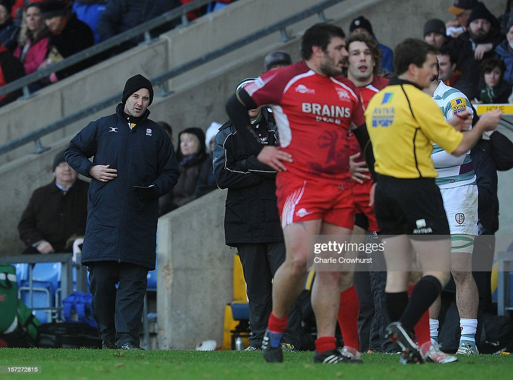 London Welsh v London Irish - Aviva Premiership