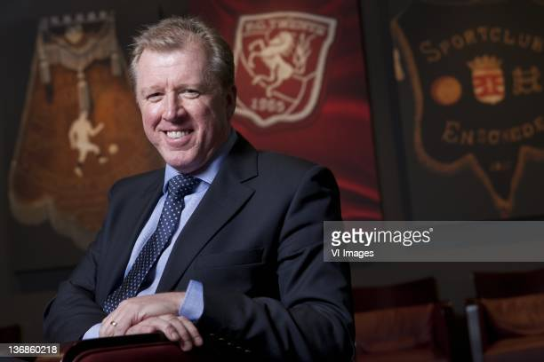 Coach Steve McClaren of FC Twente during a photo shoot on January 6, 2012 in Enschede, Netherlands.