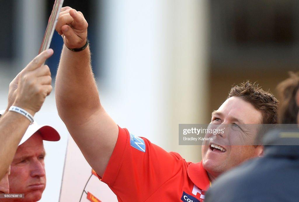 Gold Coast v Brisbane - JLT Community Series