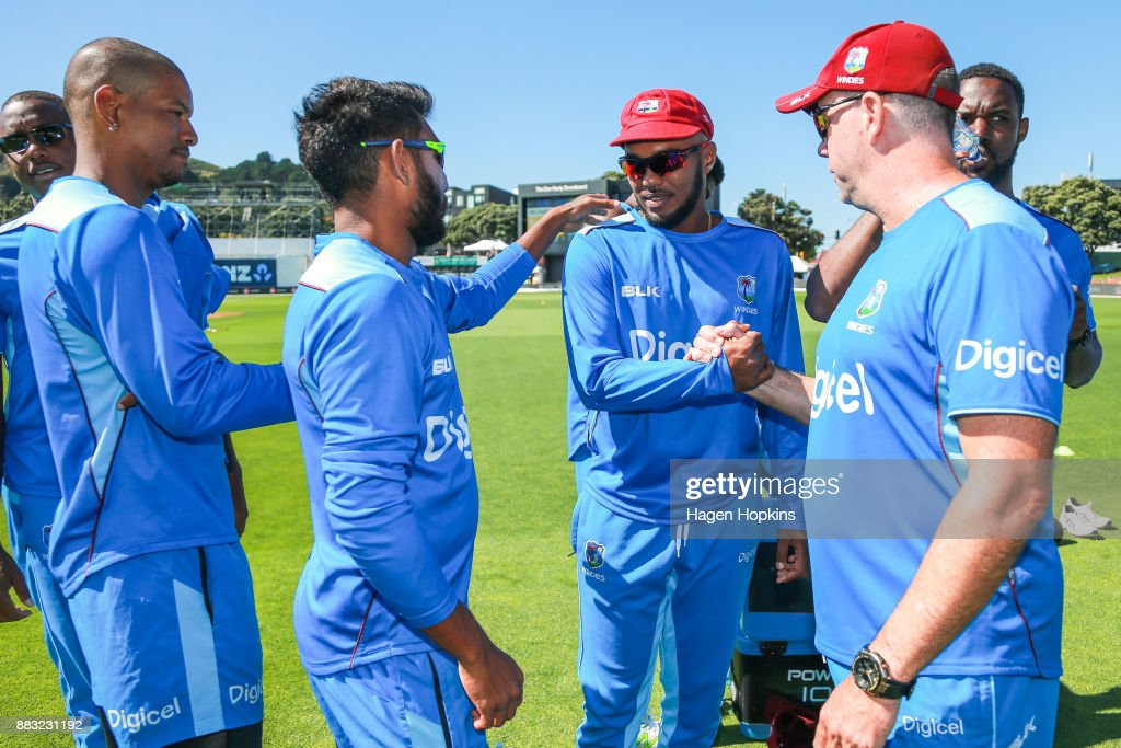 New Zealand v West Indies - 1st Test: Day 1