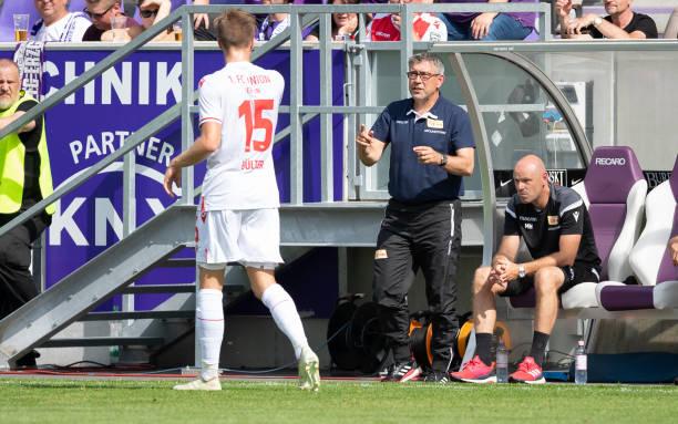 DEU: FC Erzgebirge Aue v Union Berlin - test match
