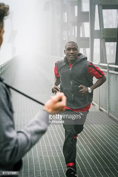 coach with chronograph during training session - pjphoto69 stock pictures, royalty-free photos & images