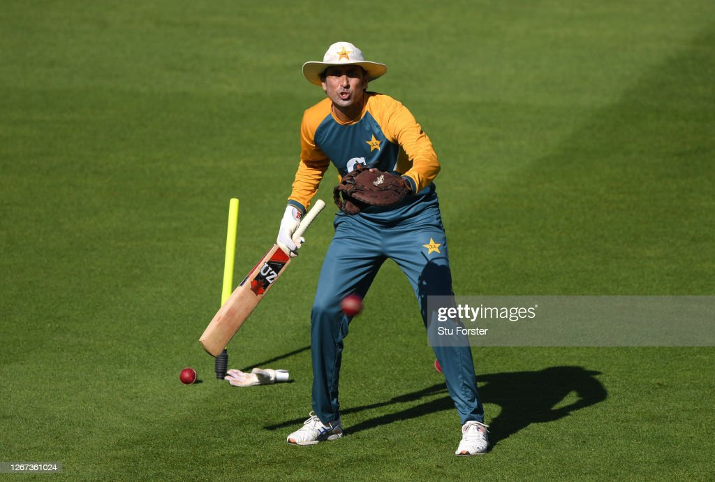 England & Pakistan Net Sessions : News Photo