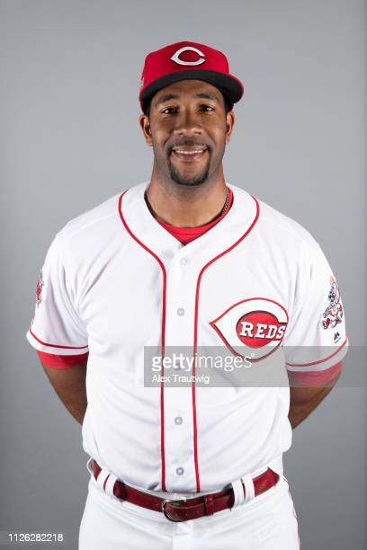 Coach Yusuf Carter of the Cincinnati Reds poses during Photo Day on Tuesday February 19 2019 at Goodyear Ballpark in Goodyear Arizona
