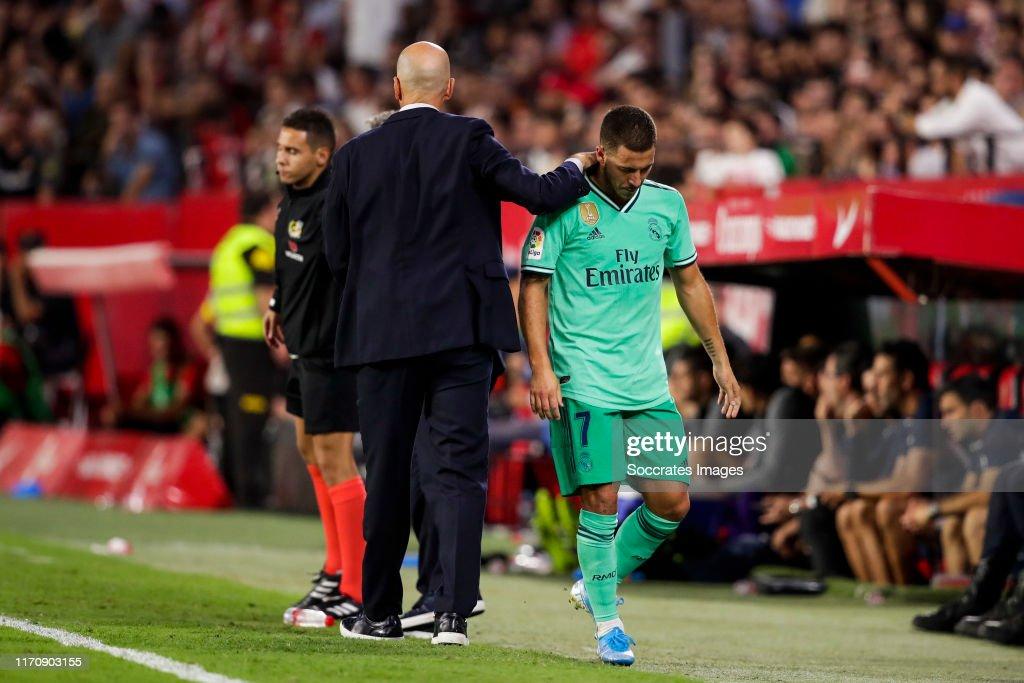 Sevilla v Real Madrid - La Liga Santander : News Photo