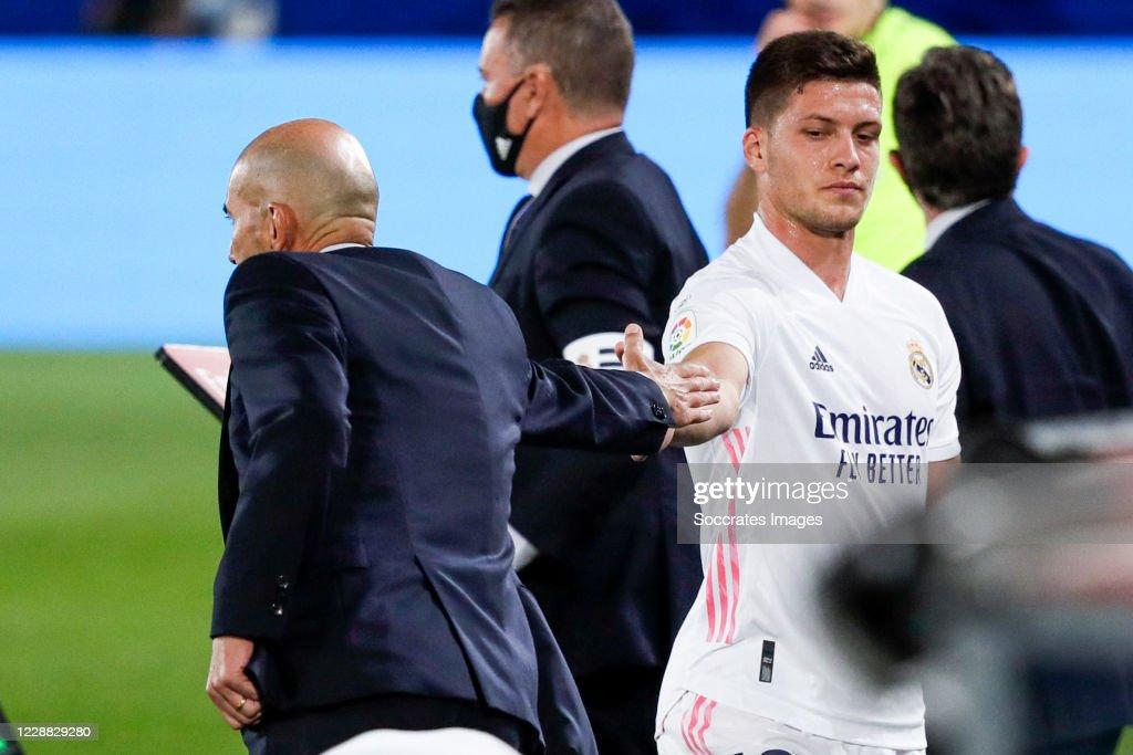 Real Madrid v Real Valladolid - La Liga Santander : News Photo