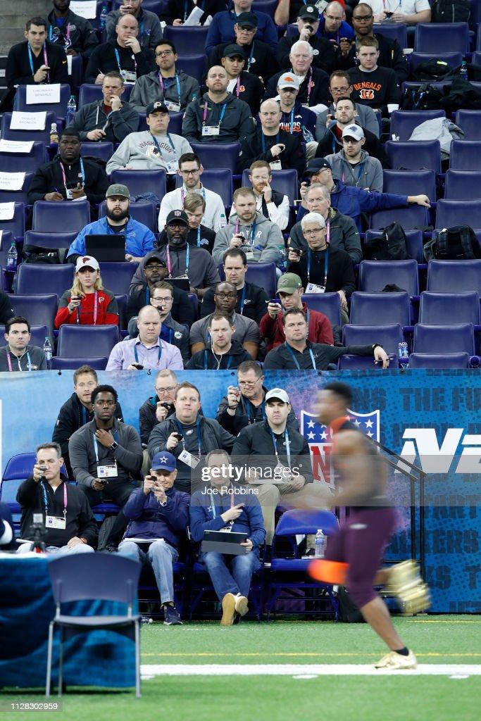NFL Combine - Day 2 : Foto jornalística
