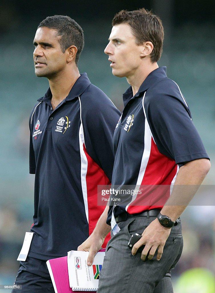 AIS AFL Academy v West Perth - Trial Match