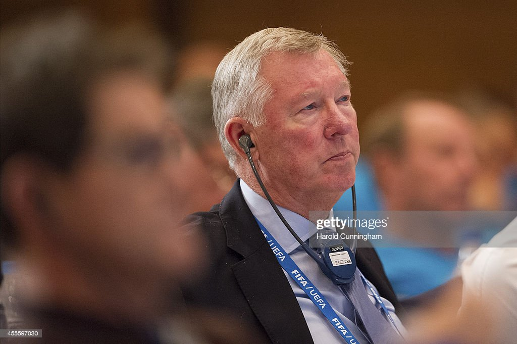 FIFA/UEFA Conference for National Coaches and Technical Directors 2014 FIFA World Cup Brazil : News Photo