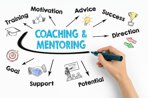 Coaching and Mentoring Concept 879922028