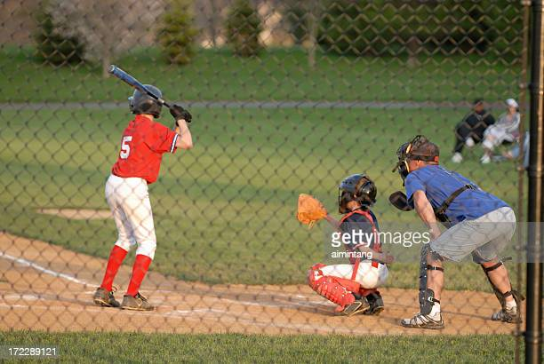 Coaching Baseball Player