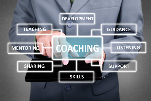 Coaching in Business Concept 1029723898