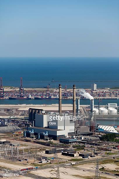 Coal burning energy plant