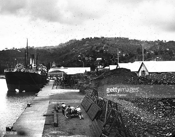 Coal dock Castries St Lucia