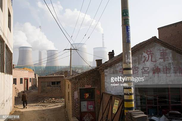 Coal fired power station in Datong, Shanxi Province. China has overtaken the U.S. As the world's largest emitter of carbon and green house gases,...