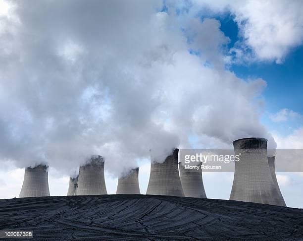 coal fired power station - monty rakusen stock-fotos und bilder