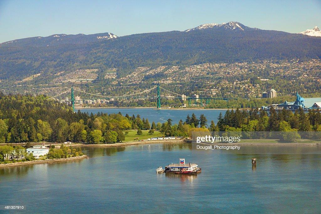 Coal Harbour Vancouver Canada : Stock Photo