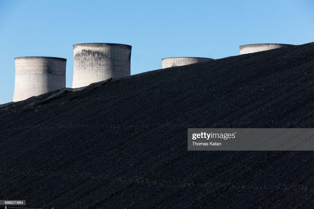 Coal Hill : Stock Photo