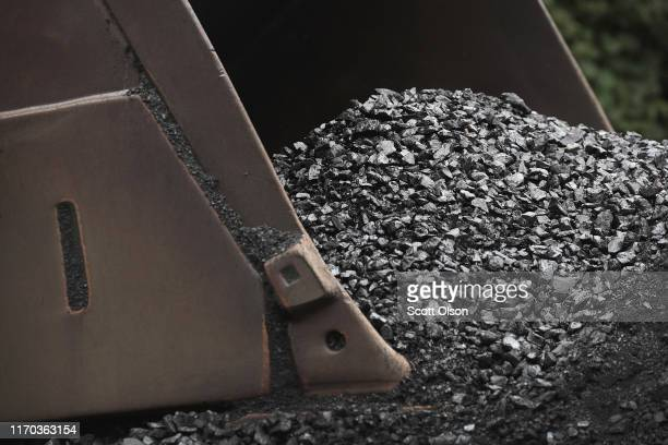 Coal is prepared for shipping at mine on August 26, 2019 near Cumberland, Kentucky. Eastern Kentucky, once littered with coal mines, is seeing that...