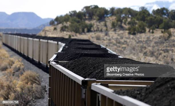 Coal is Transported by Rail