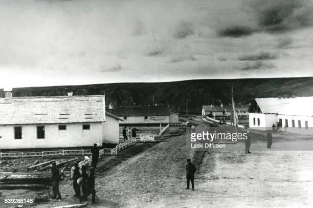 Coal mine in the Vorkuta Gulag , one of the major Soviet labor camps, Russia, Komi Republic, 1945.