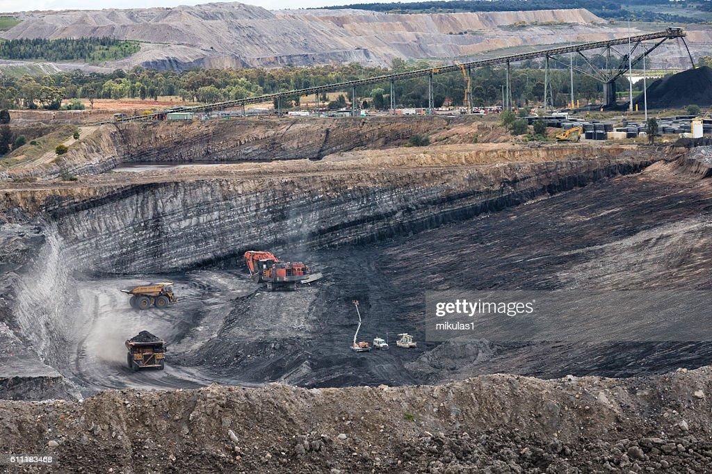 Coal mine : Stock Photo