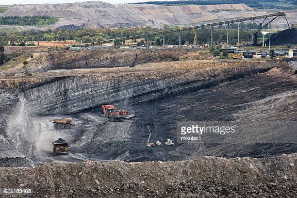 coal mine - coal mining stock photos and pictures