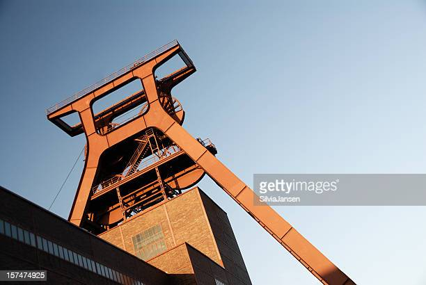coal mine zeche zollverein - ruhr stock pictures, royalty-free photos & images
