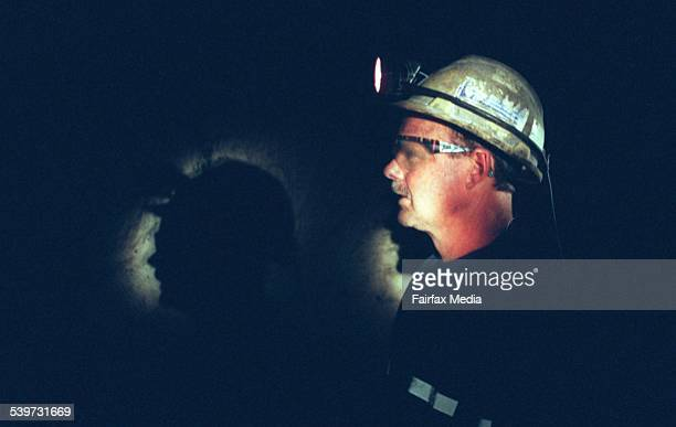 A coal miner at south Bulga mine in the Hunter Valley in NSW Australia on 8 July 1997 AFR GENERIC Picture by MICHELE MOSSOP MINE GENERIC COAL MINING...