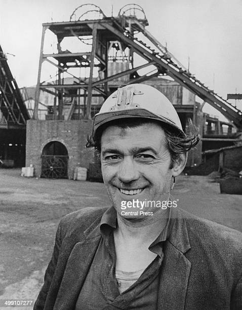 Coal miner Ted Pickles at the Denby Grange Colliery near Wakefield West Yorkshire 15th December 1973 During his two weeks' annual holiday Pickles...