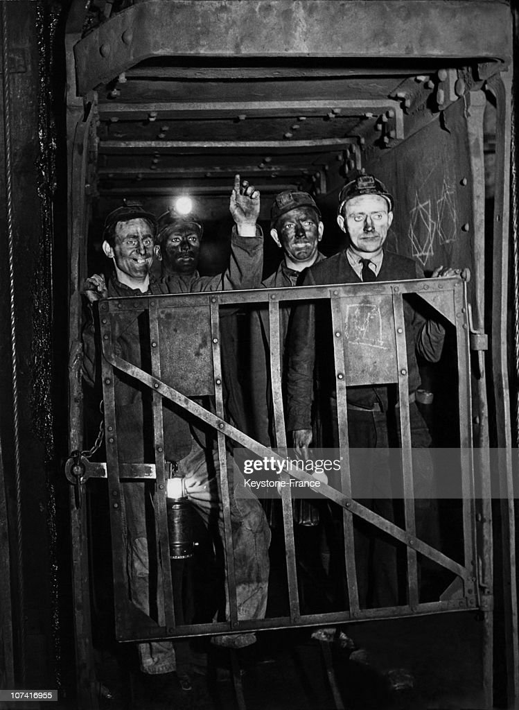 Coal miners, United Kingdom.