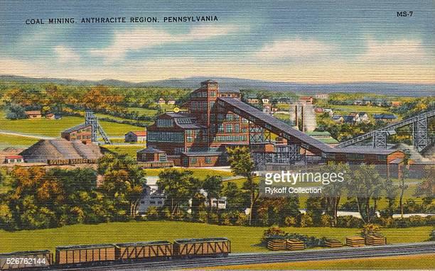 Coal Mining Anthracite Region Pennsylvania