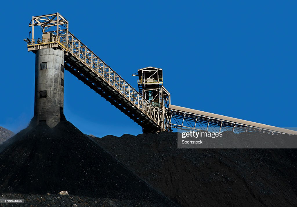 Coal Mining : Stock Photo