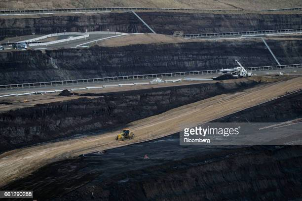 A coal pit of the Hazelwood coalfired power plant stands in Hazelwood Australia on Thursday March 30 2017 The closure of Hazelwood one of Australias...