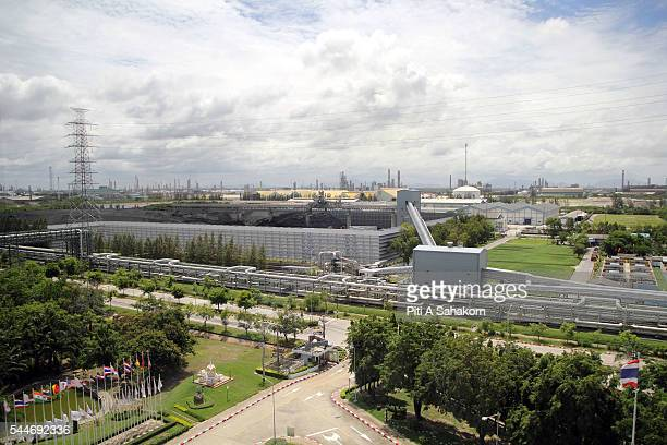 Coal power plant at the Map Ta Phut industrial estate in Rayong province. The country's largest industrial estate and the world's eight-largest...
