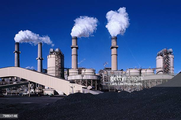 coal power plant - coal fired power station stock photos and pictures