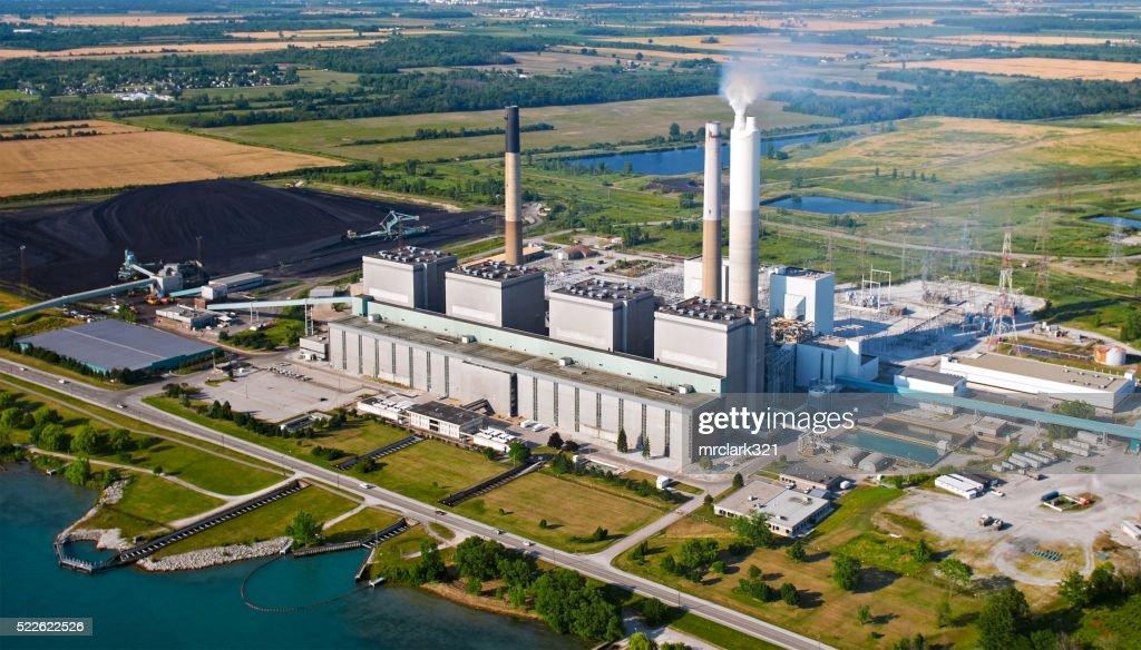 Coal Powerplant : Stock Photo