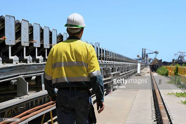Coal Terminal Workman