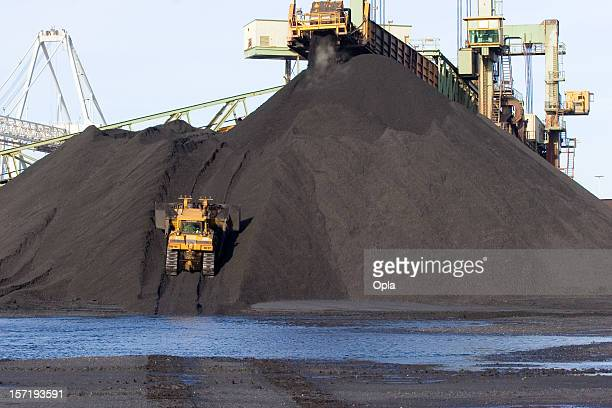 coal truck - coal mining stock photos and pictures
